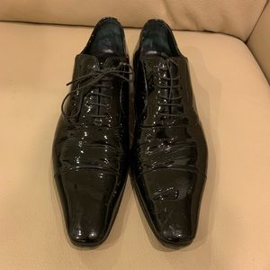 Dolce & Gabbana men's patent leather shoes size5.5